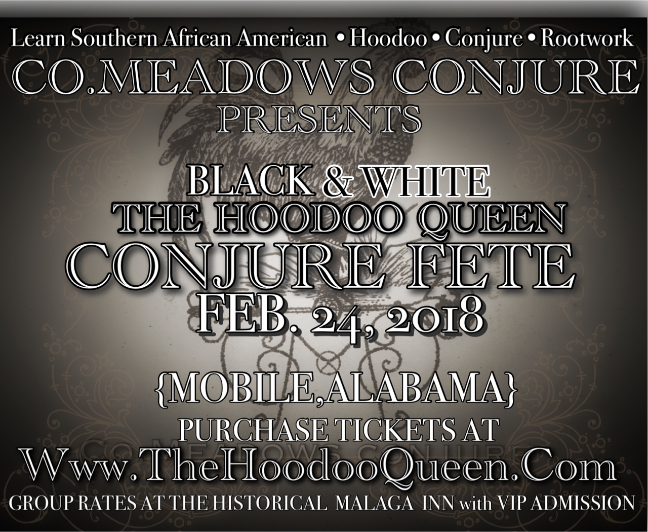 The Hoodoo Queen The Conjure Fete