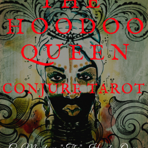 Welcome to The Hoodoo Queen Conjure Tarot, a  divination system born out of the indigenous traditions and practices of  African Americans in the deep south best known as hoodoo.  In  addition  to the African Communities of the south you will get a first hand look  into  the  family traditions and practices of the Meadows  and Des La Pound family  lineage of Hoodoo, Obeah and Vodou.         The Hoodoo Queen Conjure Taort is not read from a tarot divination system point of view but the set is actually read from a Bone Reading or Playing Card  Divination  foundation. This is a unique and one of a kind system that will teach and guide you to develop your gift(s) of seership.   I thank you so much for your  purchase, may this deck allow you connect and /or reconnect to our Ancestral Lineage in light of wisdom, in additional to African American Conjure, Rootwork and  the Grand Door of Hoodoo.  With Love and Blessings, The Hoodoo Queen