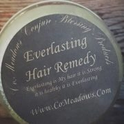Dry hair, easily tangles, and lacks shine??? You would do great in using this mixture oils, butters, and herbs. Co.Meadows Everlasting Hair Remedy is said to bring your hair everlasting life!