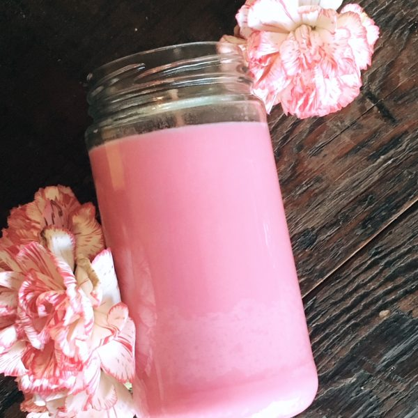 Pink Seven/Five Day Candle