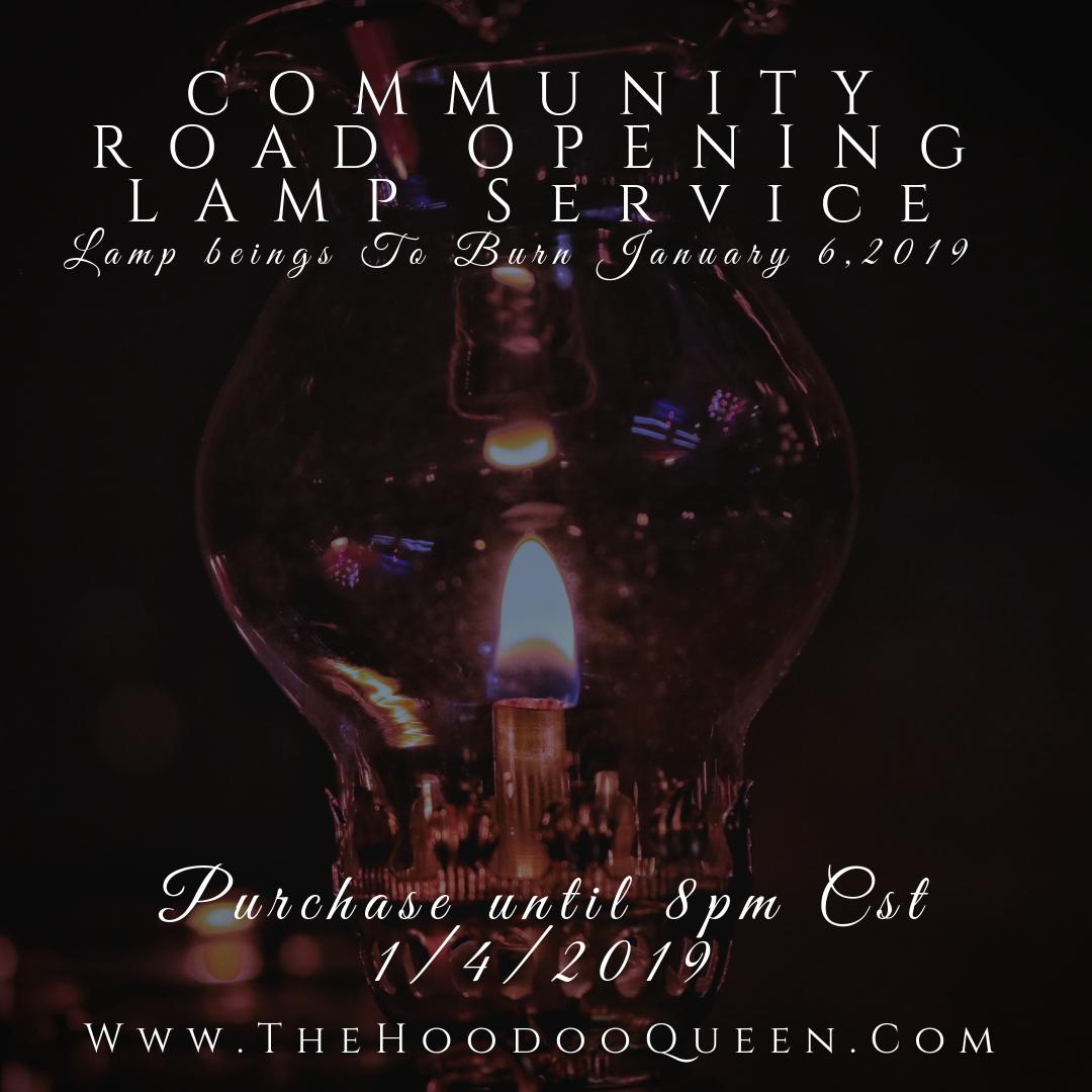 Jan 2019 Road Opening Lamp