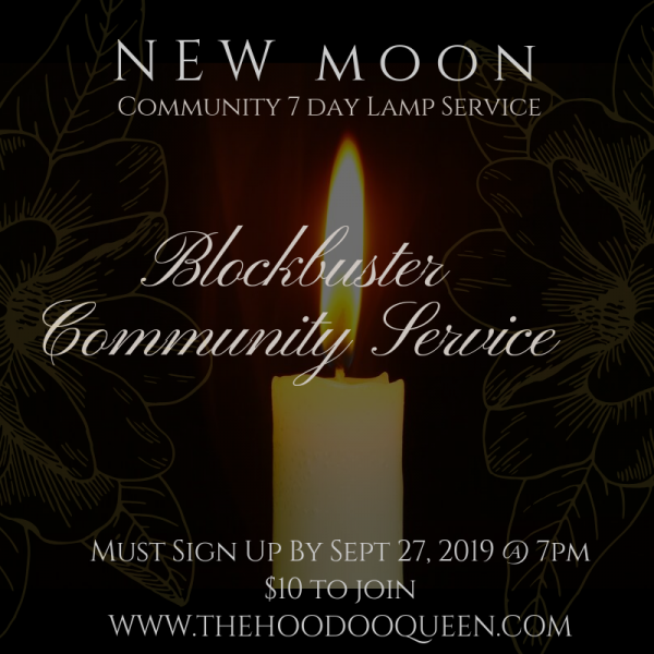 Community New Moon